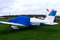 G-GBRB @ EGNF - privately owned - by Chris Hall
