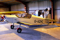 G-AZHC @ EGNF - Aerodel Flying Group - by Chris Hall