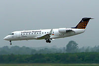 D-ACRO @ EDDL - Canadair CRJ-200LR [7494] (Eurowings/Lufthansa Regional) Dusseldorf~D 27/05/2006 - by Ray Barber