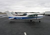N11134 @ KHWD - Cessna R182 @ Hayward Air Terminal , CA - by Steve Nation