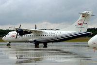 D-BJJJ @ EDDG - Aerospatiale ATR-42-300 [278] (European Air Express) Munster-Osnabruck~D 25/05/2006 - by Ray Barber