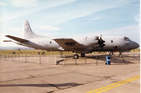 156523 @ EGQL - P-3C Orion of Patrol Squadron VP-30 on display at the 1996 RAF Leuchars Airshow. - by Peter Nicholson