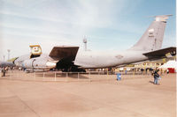 59-1456 @ EGQL - Another view of the New Jersey Air National Guard KC-135E Stratotanker named Spirit of Camden County on display at the 1996 RAF Leuchars Airshow. - by Peter Nicholson
