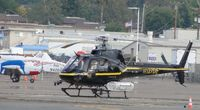 N127DE @ SEE - Parked near the Admin building - by Helicopterfriend