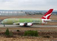 F-WWAQ @ LFBO - C/n 0062 - For Qantas - by Shunn311
