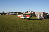 C-GLDD @ 1B2 - Classic plane, classic airfield ! - by charley_5054
