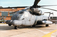 67-14993 @ MHZ - MH-53J Pave Low III of 21st Special Operations Squadron/352nd Special Operations Group on display at the 1996 RAF Mildenhall Air Fete. - by Peter Nicholson