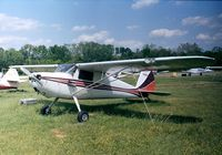 N1885N @ KCGS - Cessna 120 at College Park MD airfield