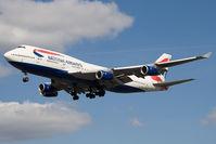 G-CIVU @ EGLL - British Airways 747-400 - by Andy Graf-VAP