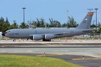 63-8023 @ SJU - This KC-135 has a sticker of the Arizona Diamonds Back. - by Angel Moreno, PR Spotter