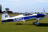 G-NPKJ @ EGNW - at the End of Season Fly-in at Wickenby Aerodrome - by Chris Hall