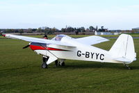 G-BYYC @ EGNW - at the End of Season Fly-in at Wickenby Aerodrome - by Chris Hall