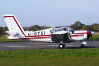 G-BYSI @ EGNW - at the End of Season Fly-in at Wickenby Aerodrome - by Chris Hall