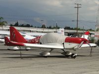 N701GB @ CCB - Parked at Foothill Sales & Service after being struck by N510PS - by Helicopterfriend