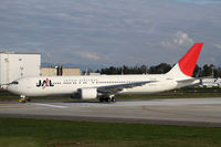 JA651J @ PAE - Landing after a test flight - by Duncan Kirk