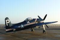 N14HP @ EFD - Howard Pardue's Bearcat At the 2010 Wings Over Houston Airshow