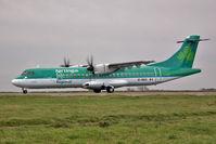 EI-REO @ EGGW - Aer Arran / Aer Lingus Commuter ATR ATR -72-500, c/n: 787 at Luton - by Terry Fletcher