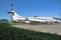 5A-UAB @ EGGW - United Aviation , Libya  Global Express at Luton - by Terry Fletcher