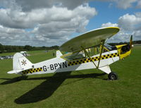 G-BPYN @ EGHP - Snazzy Color scheme on this Cub - by BIKE PILOT