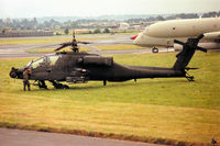 84-24288 @ EGVA - AH-64A Apache of the US Army's 2-227th Aviation Battalion at the 1993 Intnl Air Tattoo at RAF Fairford. - by Peter Nicholson