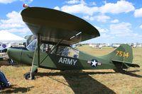 N4698E @ I74 - Mid-East Regional Fly-In (MERFI) - Urbana, Ohio. - by Bob Simmermon