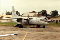 209 @ EGVA - An-26 Curl of the Hungarian Air Force's Szolnok Air Transport Regiment on the flight-line at the 1993 Intnl Air Tattoo at RAF Fairford. - by Peter Nicholson