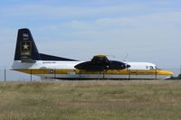 85-1607 @ AFW - US Army Golden Knights jump plane at Alliance Airport - Ft. Worth, TX