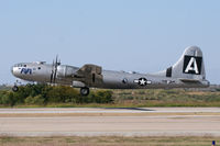N529B @ FTW - CAF B-29 FIFI departing Meacham Field - Fort Worth, TX