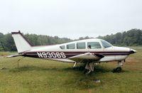 N9306S @ W18 - Beechcraft B24R Sierra 200 at Suburban Airport, Laurel MD