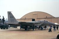 77-0102 @ KADW - McDonnell Douglas F-15A Eagle of the MA ANG at Andrews AFB during Armed Forces Day 2000