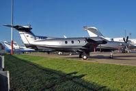 D-FFHZ @ EGGW - German registered 2007 Pilatus Aircraft Ltd PC, c/n: 847 at Luton - by Terry Fletcher