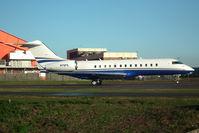N70PS @ EGGW - 1999 Bombardier BD-700-1A10, c/n: 9012 at Luton - by Terry Fletcher