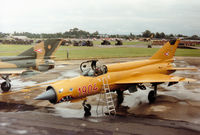 1904 @ EGVA - MiG-21 Fishbed of 31 Squadron Hungarian Air Force on the flight-line at the 1993 Intnl Air Tattoo at RAF Fairford. - by Peter Nicholson