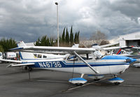 N46736 @ KCCR - 1968 Cessna 172K @ Buchanan Field, Concord, CA just before a storm - by Steve Nation