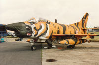 5454 @ EGVA - G-91R/3 of 301 Esquadron Portuguese Air Force on display at the 1993 Intnl Air Tattoo at RAF Fairford. - by Peter Nicholson