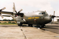 84005 @ EGVA - C-130H Hercules of F7 Wing Swedish Air Force on display at the 1993 Intnl Air Tattoo at RAF Fairford. - by Peter Nicholson