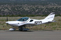 N221PL @ SAF - At Santa Fe Municipal Airport - Santa Fe, NM