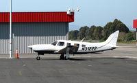N31222 @ KHWD - 2004 Piper PA-32R-301T arriving  @ Hayward, CA