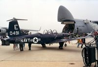 160491 @ KADW - Beechcraft T-34C Turbo-Mentor of the US Navy at Andrews AFB during Armed Forces Day