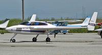 N101VA @ KSQL - 1999 Velocity @ San Carlos, CA (to owner in Port Orange, FL by Mar 2010) - by Steve Nation