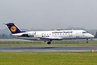 D-ACHE @ LOWL - Lufthansa Regional (Lufthansa CityLine) Canadair CR-600-2B19 Regional Jet CRL-200LR landing in LOWL/LNZ - by Janos Palvoelgyi