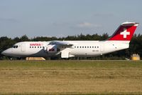 HB-IXS @ ELLX - departure via RW06 - by Friedrich Becker