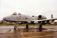 81-0978 @ EGVA - A-10A Thunderbolt, callsign Hawg 01, of 510th Fighter Squadron/52nd Fighter Wing based at Spangdahlem on display at the 1993 Intnl Air Tattoo at RAF Fairford. - by Peter Nicholson