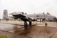 81-0978 @ EGVA - Another view of Hawg 01, the 510th Fighter Squadron A-10A Thunderbolt from Spangdahlem on display at the 1993 Intnl Air Tattoo at RAF Fairford. - by Peter Nicholson