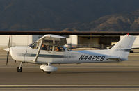 N442ES @ CCB - Departing Runway 24. - by Marty Kusch