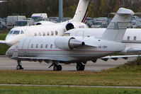 4X-CMY @ EGGW - 1998 Canadair CL-600-2B16 Challenger 604, c/n: 5388 at Luton - by Terry Fletcher