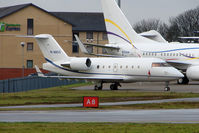 M-ANGO @ EGGW - 2005 Bombardier CANADAIR CL600-2B16 (604 VARIANT), c/n: 5610 at Luton - by Terry Fletcher