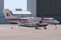 N567WK @ FTW - Formerly Air Nostrum Now registered with the U.S. Department of State - At Meacham Field - Fort Worth, TX