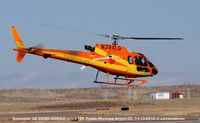 N394LG @ PUB - Lift off at Pueblo CO - by J.G. Handelman