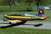 HB-HOO @ LSMU - this aircraft was ferried to the US in January 2000. There it crashed on delivery. - by Joop de Groot
